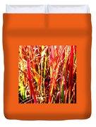 Sunlit Grass Duvet Cover
