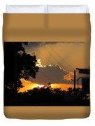 Sunlit Heaven's Duvet Cover
