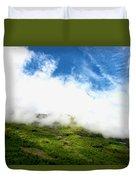 Sunlit Hillside Duvet Cover
