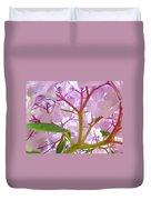Sunlit Hydrangea Flowers Garden Art Prints Baslee Troutman Duvet Cover
