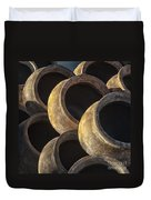 Sunlit Pottery Duvet Cover
