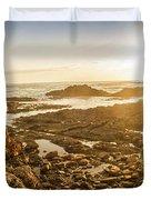 Sunlit Seaside Duvet Cover