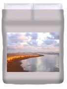 Sunlit Shores Duvet Cover