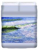 Sunlit Surf Duvet Cover