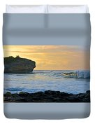 Sunlit Waves - Kauai Dawn Duvet Cover