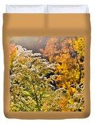 Sunlit Wildflower Duvet Cover