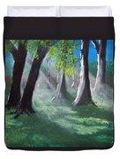 Sunlit Woods Duvet Cover