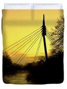 Sunny Bridge Duvet Cover