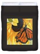 Sunny Butterfly Duvet Cover