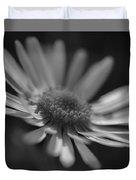 Sunny Daisy Black And White 2 Duvet Cover
