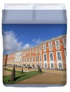 Sunny Morning At Hampton Court Palace London Duvet Cover