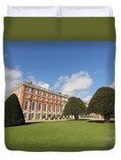 Sunny Day At Hampton Court Palace London Uk Duvet Cover