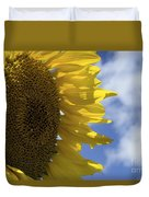 Sunny Faces And Blue Skies Duvet Cover