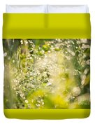 Sunny Grass After The Rain Duvet Cover