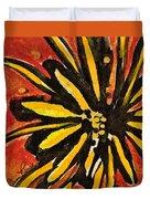 Sunny Hues Watercolor Duvet Cover