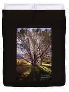 Sunny Mono Tree Duvet Cover