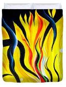 Sunny Morning, Energy. Abstract Art Duvet Cover