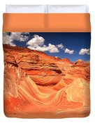 Sunny Northern Arizona Landscape Duvet Cover