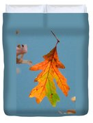 Sunny Oak Leaf Duvet Cover