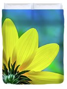 Sunny Outlook Duvet Cover