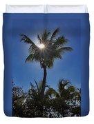 Sunny Palm Duvet Cover