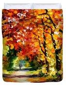 Sunny Path Duvet Cover