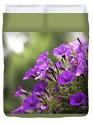 Sunny Petunias 2 Duvet Cover