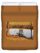 Sunny Pond Duvet Cover