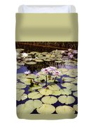 Sunny Waterlilies Duvet Cover