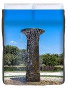 Sunnylands Fountain 2 Duvet Cover