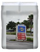 Sunoco Bait And Tackle Duvet Cover
