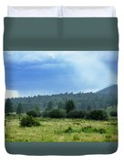 Sunray With Rain Duvet Cover