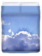 Sunrays Duvet Cover