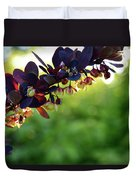 Sunrays With Blooms Duvet Cover