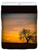 Sunrise 1-27-2011 Duvet Cover