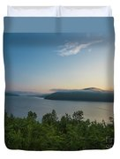 Sunrise Allegheny National Forest Duvet Cover