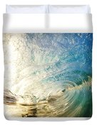 Sunrise And Wave Duvet Cover