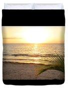 Sunrise At Akumal Sur 1 Duvet Cover