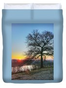 Sunrise At Amelia Earhart Home. Duvet Cover