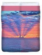 Sunrise At Atlantic Beach Duvet Cover