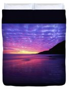 Sunrise At Bray Head, Co Wicklow Duvet Cover