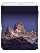 Sunrise At Fitz Roy Patagonia 8 Duvet Cover