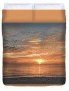 Sunrise At Hollywood Beach Duvet Cover