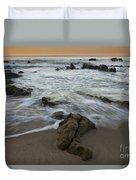 Sunrise At Laguna Beach Duvet Cover