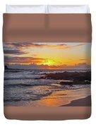 Sunrise At Makapu'u Duvet Cover