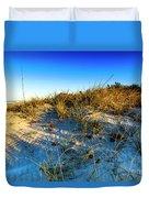 Dawn At Manasota Beach Duvet Cover