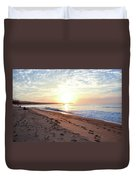 Sunrise At Medano Duvet Cover