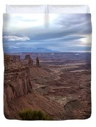 Sunrise At Mesa Arch - Canyonlands National Park - Moab Utah Duvet Cover