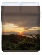 Sunrise At Montauk Point State Park Duvet Cover