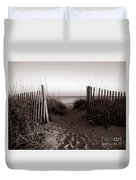 Sunrise At Myrtle Beach Sc Duvet Cover
